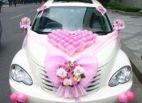 dekoracja samochodu na wesele4