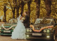 dekoracja samochodu na wesele9