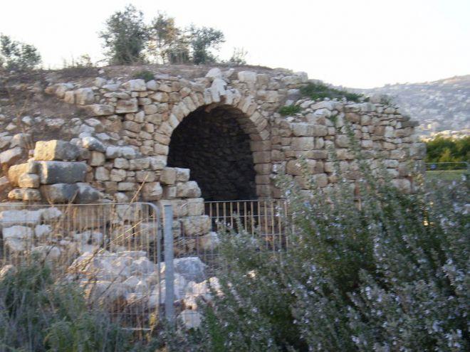 Руины церкви византийского периода