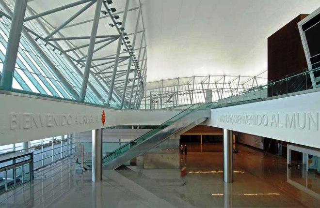 Внутри аэропорта Карраско