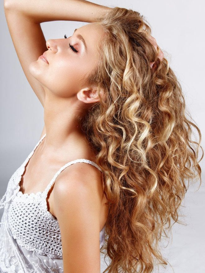 Карвинг на длинные волосы раз