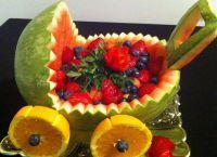 Rzeźbienie warzyw i owoców 33