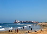 Beach at Bouznika
