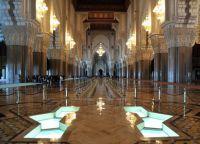 Мечеть Хассана II - зал