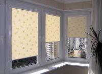 rotirajući rotirajući blindovi na plastičnim prozorima 5