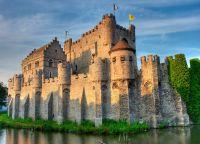 Замок графов Фландрии в Генте