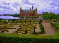 Замок Фредериксборг сады