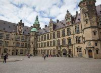 Замок Кронборг внутренний двор