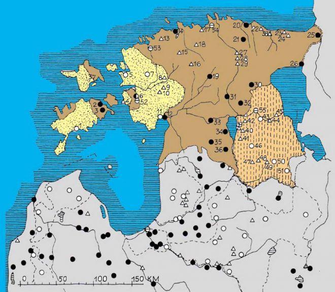 Карта замков