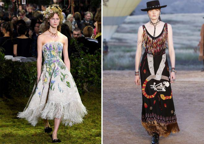 модные повседневные платья