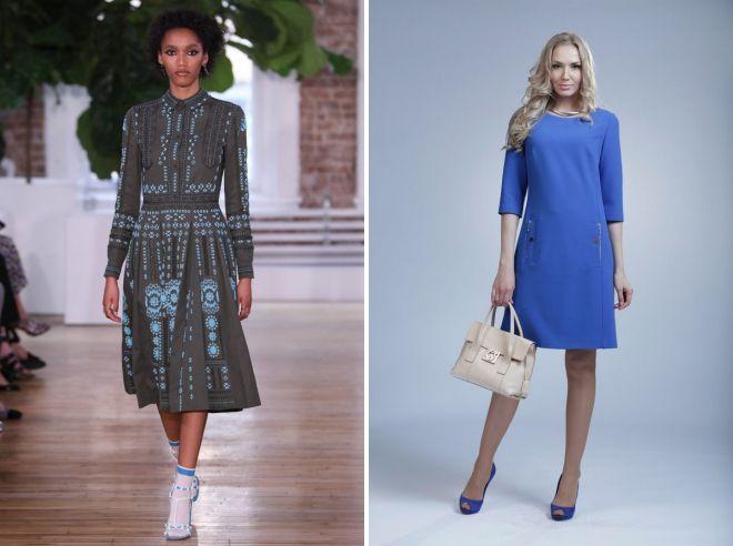 повседневные платья 2017