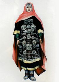 Kavkazská národní oděvy 1
