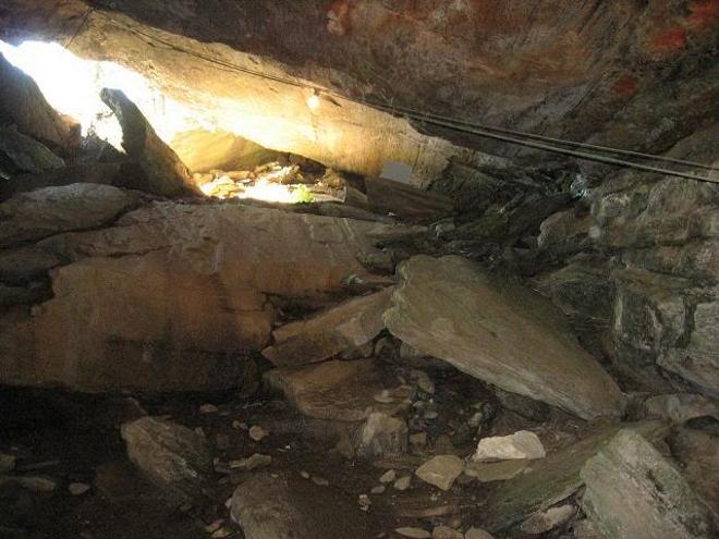 Пещера Гронлигротта