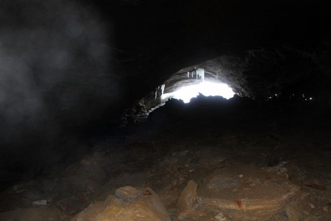 Вход в пещеру Тьоарвекраг