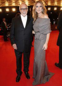 Селин Дион и ее любимый супруг Рене Анджелил (на фото в 2014 году)