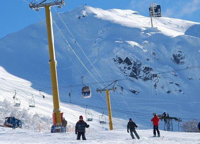 Лыжная трасса в Серро-Байо