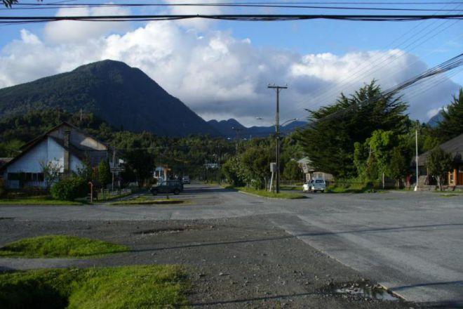 Город до извержения вулкана