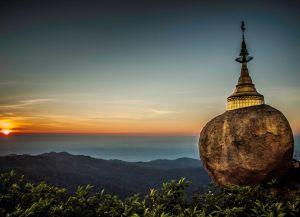 Пагода Чайттийо на закате