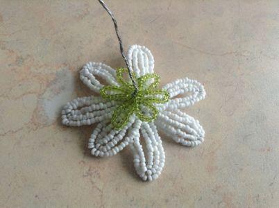 koralik rumiankowy 11