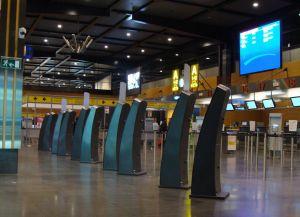 Холл в аэропорту Шарлеруа