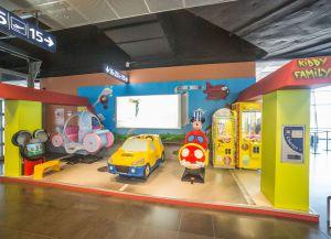 Детская комната в аэропорту Шарлеруа