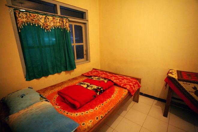 Homestay - за небольшую цену можно получить кровать и одеяло