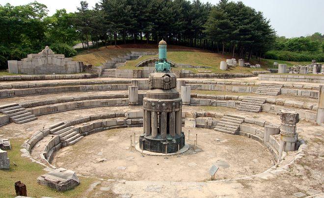 Мемориал независимости Южной Кореи в Чхонане