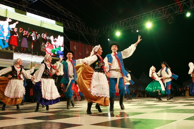 Фестиваль танца в Чхонане