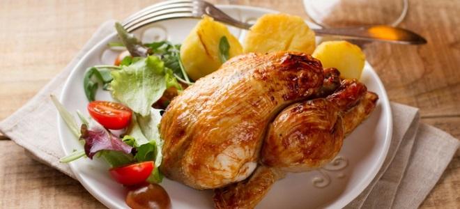 przepis z kurczaka z kornisem w piekarniku