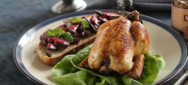 korniszon z kurczaka w rękawie