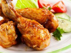 kurczak z recepturą sosu sojowego