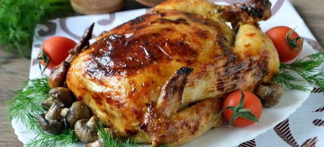 Kurczak faszerowany ryżem