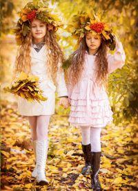 dětské podzimní fotoalbum 11