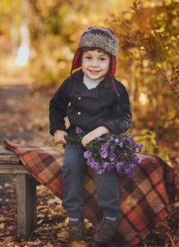 dětské podzimní fotoalbum 1