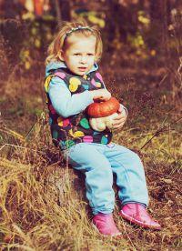 dětské podzimní fotoalbum 2