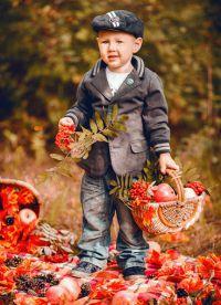 dětské podzimní fotoalbum 3