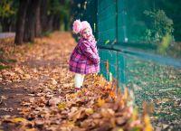 dětské podzimní fotoalbum 4