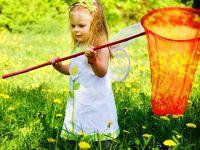 otroško fotografsko zasedanje v naravi 1