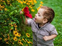 sesja zdjęciowa dla dzieci w naturze 3
