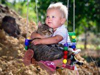 otroško fotografsko zasedanje v naravi 5