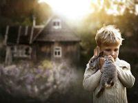 sesja zdjęciowa dla dzieci w przyrodzie 9