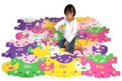 dywan do pełzania puzzli