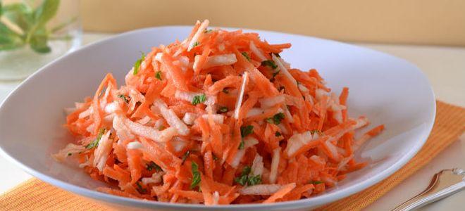 sałatka z marchewki dla dzieci