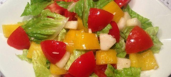 przepis na sałatkę warzywną dla dzieci