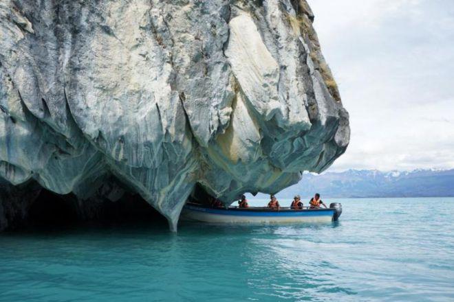 Туристы на озере