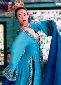 Chiński strój ludowy 1