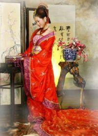 Chiński strój ludowy 4
