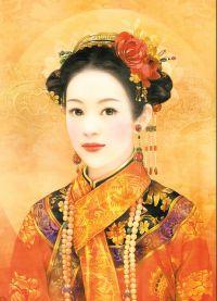 Chiński strój ludowy 6