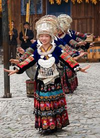 Chiński strój ludowy 9