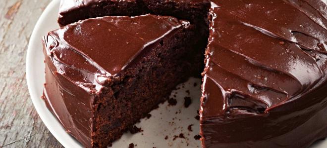 Čokoládová poleva v mikrovlnné troubě